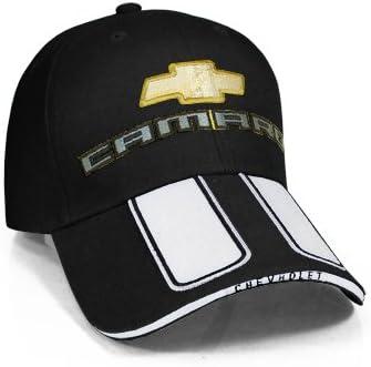 Chevrolet Camaro Rally A Righe Cappellino Da Baseball Nero Amazon It Auto E Moto