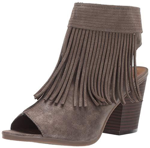 Sugar Women's Valera Peep-Toe Open Back Block Heel