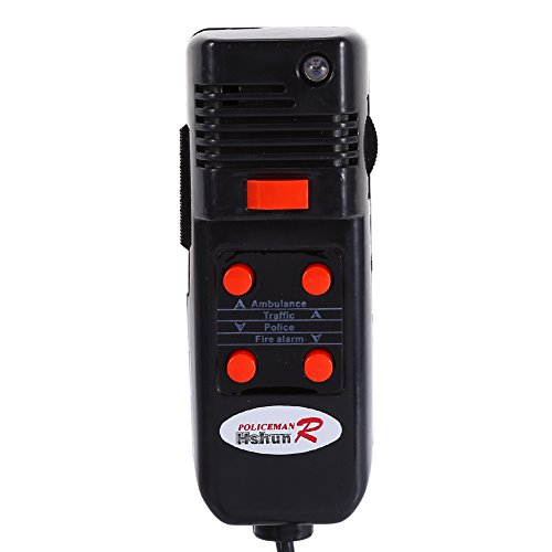 Amazon.com: Yosoo 60W 12V 5 Sound for Car Truck Loud Horn Siren Police Firemen Ambulance Warning Alarm with MIC 300db Loudspeaker: Automotive