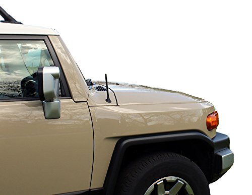 AntennaMastsRus - The Original 6 3/4 Inch is Compatible with Toyota FJ Cruiser (2007-2015) - Short Rubber Antenna - Internal Copper Coil - Premium Reception - German Engineered