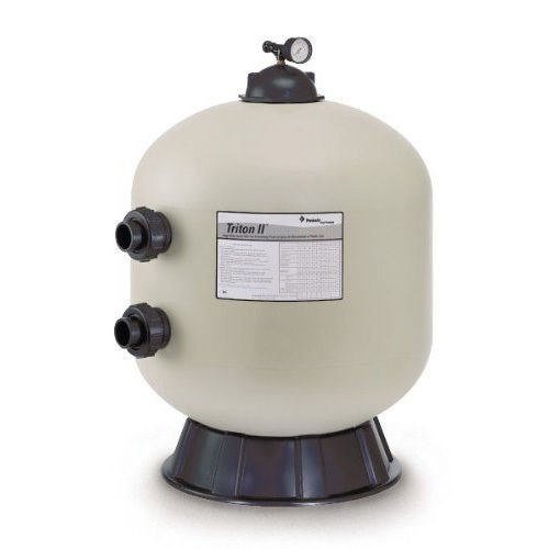 Pentair 140236 Triton II Side Mount TR40 Fiberglass Sand Filter without Valve by Pentair