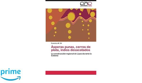 Ásperas punas, cerros de plata, indios desacatados: Amazon.es: Gil Francisco M.: Libros