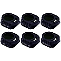 Freewell DJI Spark Filters All Day solution ND8, ND16, ND32, PL , ND8/PL, ND16/PL 6-PACK Filter Kit