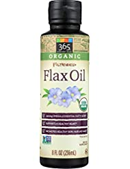 365 Everyday Value, Organic Filtered Flax Oil, 8 fl oz