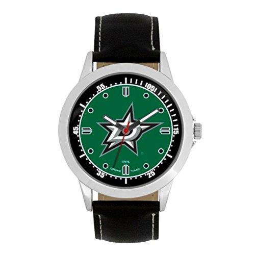 NHL Dallas Stars Mens Player Series Wrist Watch, Silver, One - Watch Mlb Star All