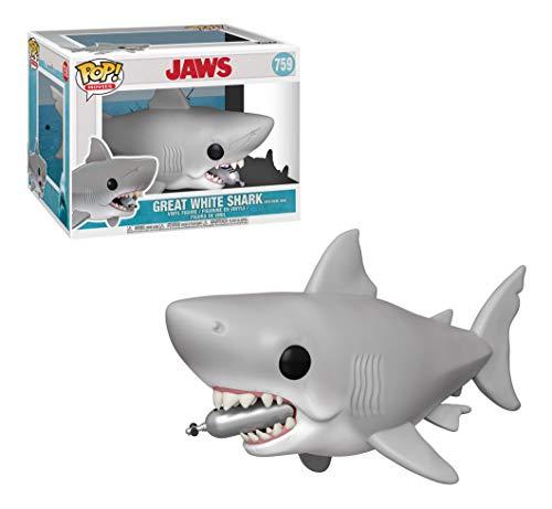 Funko- Pop Vinilo 6 Jaws w/Diving Tank Figura Coleccionable, Multicolor, Estandar (38567)