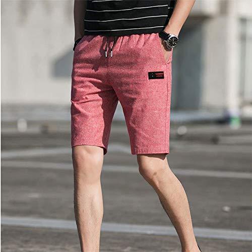 Solido Festivo Da Abbigliamento Colore Di Xl Casual Multicolor Sportivi Rot Uomo Spiaggia Pantaloni Pantaloncini OZTXiPku