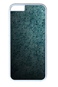 Blue Dots Abstract Custom iphone 6 plus Case Cover Polycarbonate White