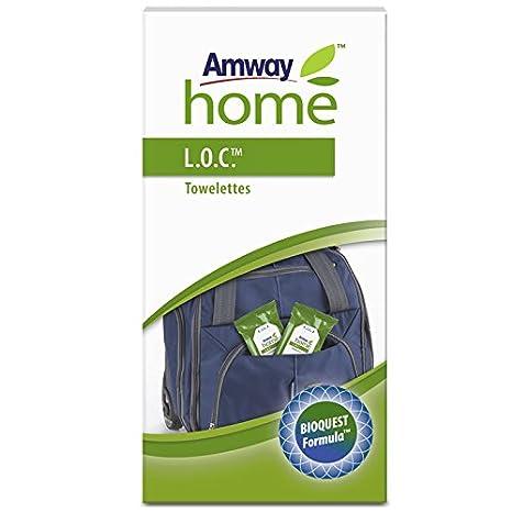 Amway l.o.c. TM Mini para salpicadero 4 x 24 Toallitas