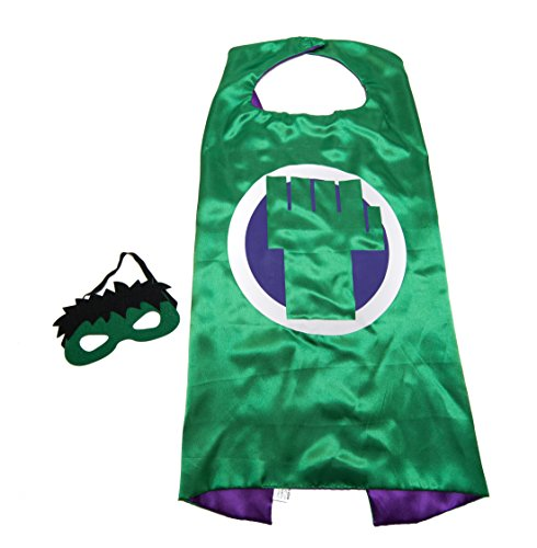 Hulk Outfits (Hulk Kids Cape and Mask Set)