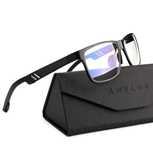 ANYLUV Blue Light Blocking Glasses Women Men - Computer Gaming Glasses,Anti Eyestrain,Al-Mg Metal Frame Ultra Light...
