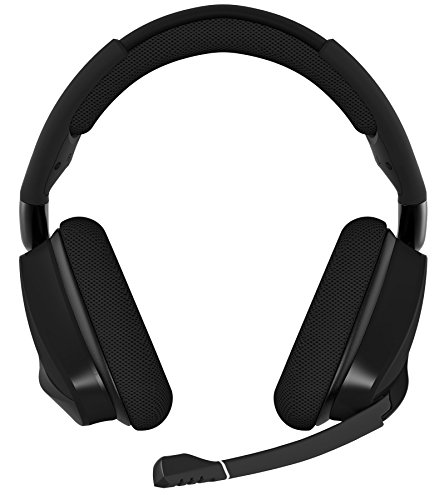 41K7LsrM1GL - CORSAIR VOID PRO RGB Wireless Gaming Headset - Dolby 7.1 Surround Sound Headphones for PC - Discord Certified - 50mm Drivers - Carbon