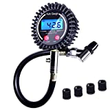 LUMITECO 2.5' Accurate Digital Tire Pressure Gauge for...