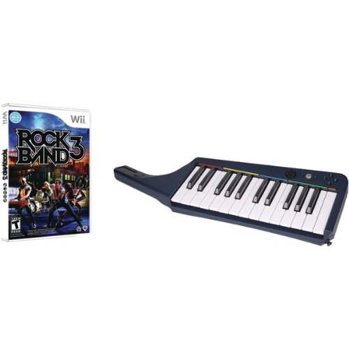 Madcatz Mad Catz Rb3969430n34/02/1 Nintendo Wii Rock Band 3 Wireless Keyboard & Software Bundle (Video Game Access / Wireless Controllers) by Mad Catz