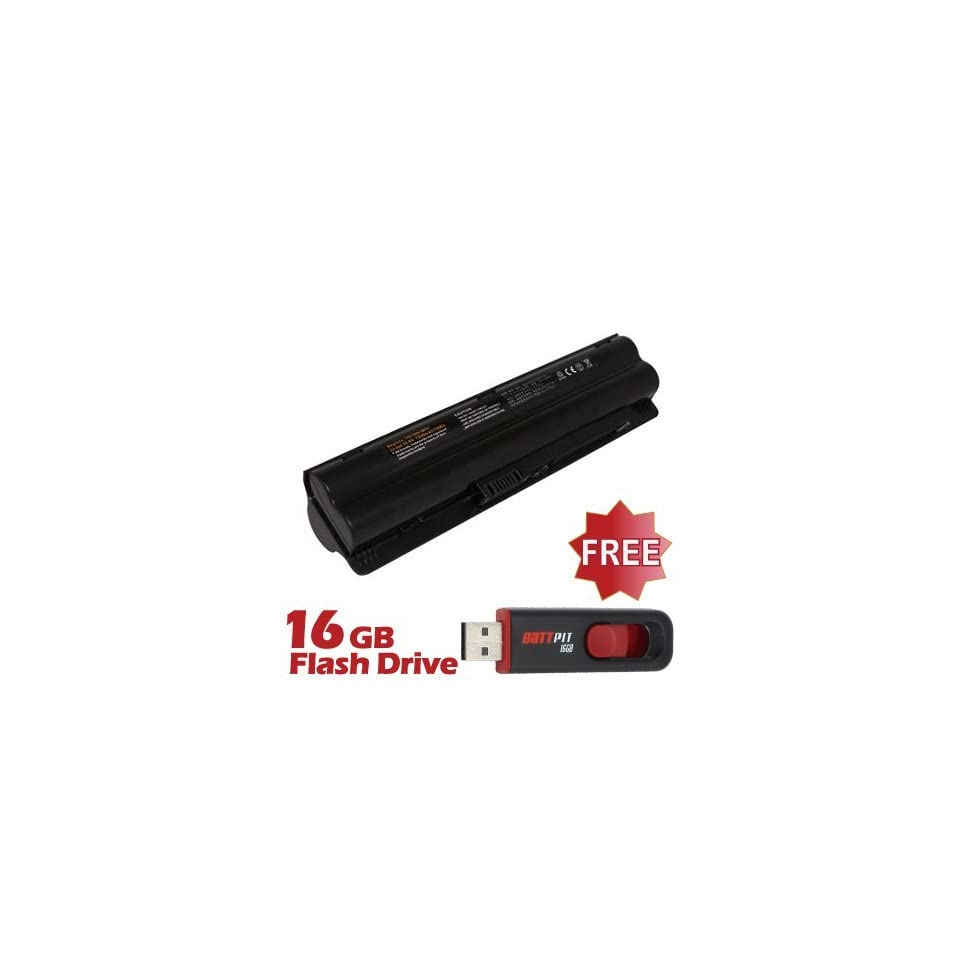 Battpit™ Laptop / Notebook Battery Replacement for HP 516479 251 (6600 mAh) with FREE 16GB Battpit™ USB Flash Drive