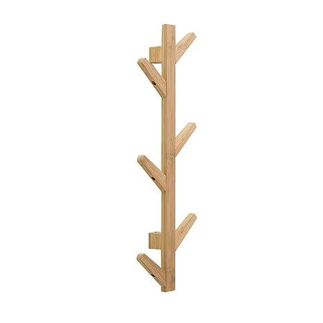 Nuevo perchero de pared gancho de madera para colgar bolsa ...