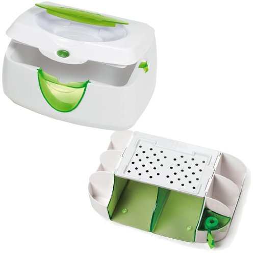 Diaper Duty Organizer with Warm Glow Wipe Warmer