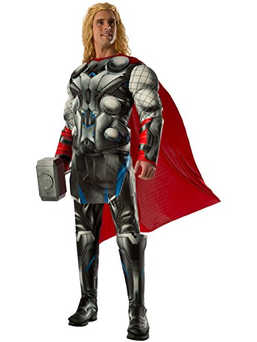 Rubie's Men's Avengers 2 Age Of Ultron Deluxe Adult Thor Costume, Multi, Standard -