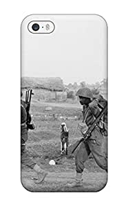 Hard Plastic Iphone 5/5s Case Back Cover,hot Photography Black And White Case At Perfect Diy