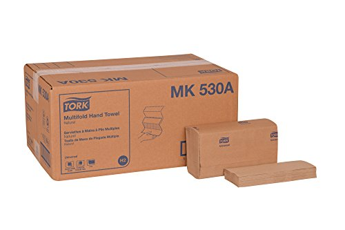 Tork Universal MK530A Multifold Paper Hand Towel, 1-Ply, 9.125