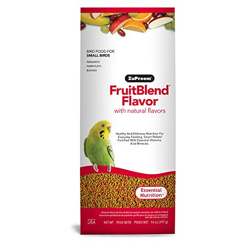 ZuPreem ZP81000 Fruitblend Small Keet Food, 14-Ounce