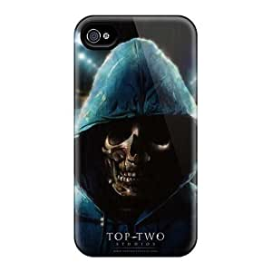 Great Hard Phone Case For Iphone 4/4s (RTM1445Bhtj) Provide Private Custom Beautiful Rio 2 Skin