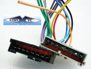 41K7OnHIi9L._QL70_ amazon com stereo wire harness ford contour 95 96 97 98 99 00 Wiring Harness Diagram at bayanpartner.co