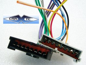41K7OnHIi9L amazon com stereo wire harness ford mustang 87 88 89 90 91 92 Aftermarket Radio Harness Diagram at soozxer.org