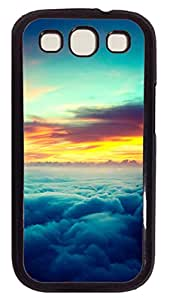Samsung Galaxy S3 I9300 Cases & Covers - Sunset Above The Clouds PC Custom Soft Case Cover Protector for Samsung Galaxy S3 I9300 - Black