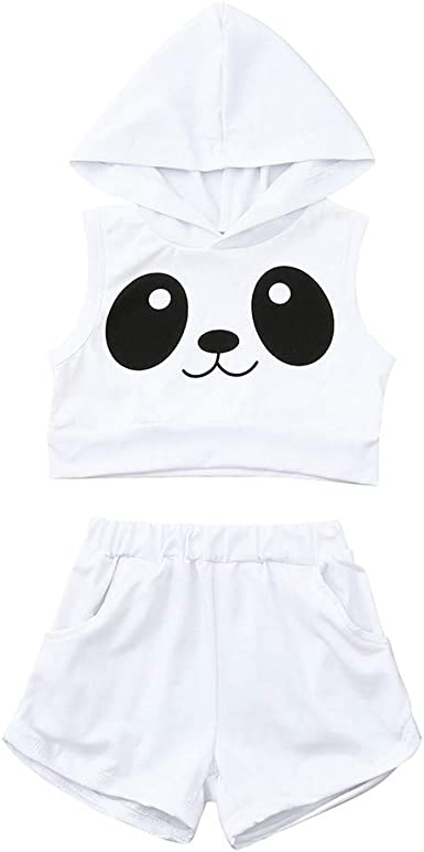 bretelles robe Set Kids Party Vêtements 2Pcs Bébé Filles Casual T-shirt tops