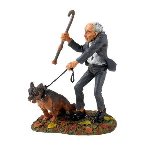 Steady Killer Steady Old man Mordecai & mad Dog Dept 56 Halloween Village NEW