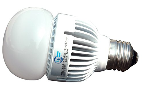 Omni-Directional 10 Watt LED Light Bulb - Small Form Factor A19 Style Replacement - 100-277V (5000K) - A19 Impact One Light