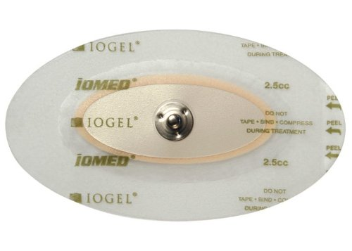 Chattanooga 5000022 IOGEL Medium Disposable Electrodes- 2.5cc fill 12 treatment kits per box