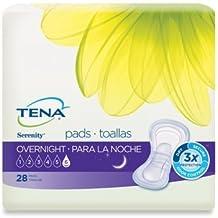 Amazon.com: Tena Serenity Overnight Bladder Control Pads (54282) by Tena Slip: Health & Personal Care