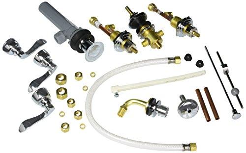Elements of Design EB8321NFL Paris Triple Handle Bidet Faucet with Retail Pop-Up, 8