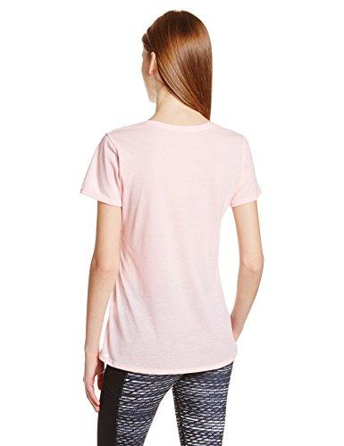 Under Armour Streaker–Camiseta de running de manga corta mujer Rosa