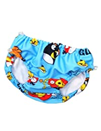 Zerci Toddler Baby Boys Girls Cute Beach Swimming Trunks Nappies Shorts