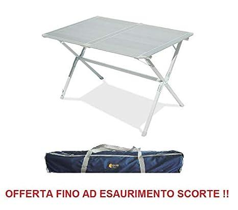 ALTIGASI - Mesa para Camping, Modelo Modus, 120 x 80 cm, con Bolsa ...