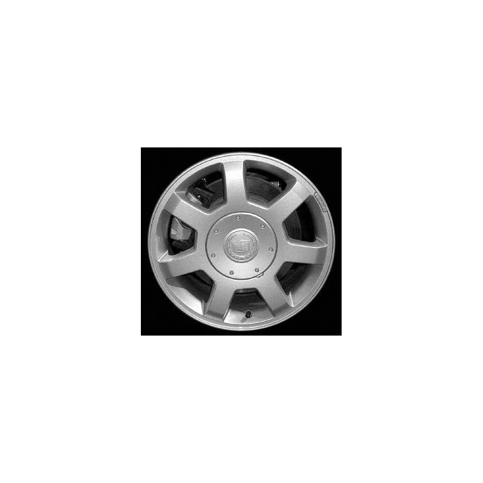 04 CADILLAC CTS V ALLOY WHEEL RIM 16 INCH, Diameter 16, Width 7 (7 SPOKE), BRIGHT SILVER, 1 Piece Only, Remanufactured (2004 04) ALY04567U20