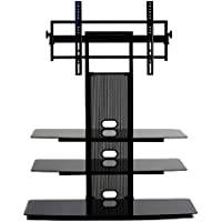 TransDeco TV Stand with Universal Mounting System for 35 to 65-Inch LED/LCD TV