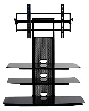 TransDeco TV Stand with Universal Mounting System for 35 to 65-Inch LED LCD TV