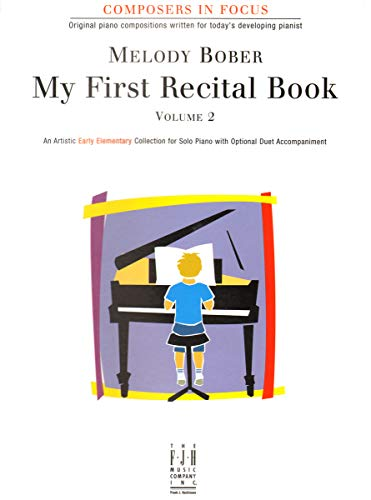 FJH1395 - My First Recital Book - Volume 2 - Composers in Focus