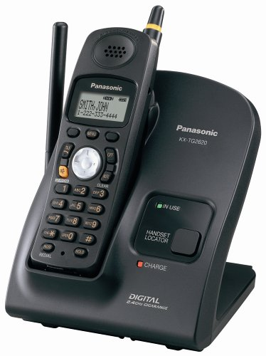 Image Unavailable Not Available For Color Panasonic KX TG2620B 24 GHz FHSS GigaRange Digital Cordless Telephone