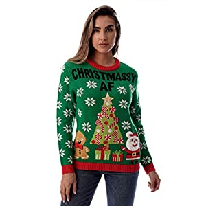#followme Womens Ugly Christmas Sweater – Sweaters for Women