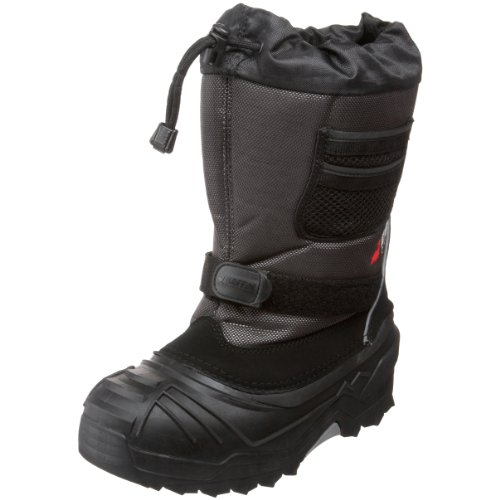 Price comparison product image Baffin Young Explorer Insulated Boot (Little Kid / Big Kid), Pewter, 3 M US Little Kid
