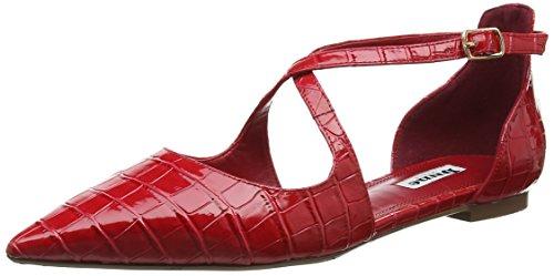 Dune Camiler, Bailarinas para Mujer Red (Red-Croc)