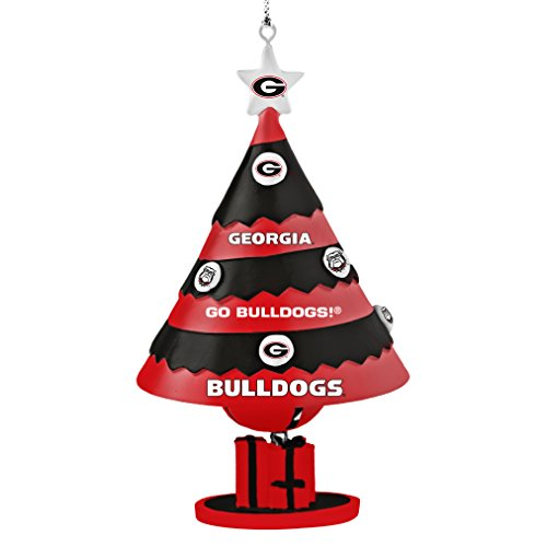 NCAA Georgia Bulldogs Tree Bell Ornament