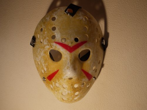 Mask of the Jason style Friday, the 13th Costume play [Quantity -