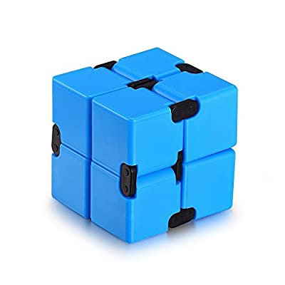 KY-A Infinite Cube Fidget toys - Relieves ADHD Anxiety and Boredom ,Kill Time toys
