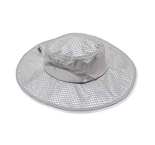 Cooling Bucket Hat - Sunscreen Heatstroke Protection Cap - Mens & Womens Wide Brim Boonie Hat for Beach, Hiking, Fishing, Gardening, Camping